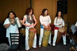palo drummers
