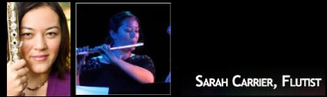 Recital: Sarah Carrier, flute