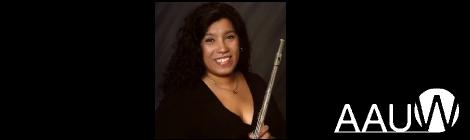 GC Flutist Jessica Valient Receives AAUW American Fellowship