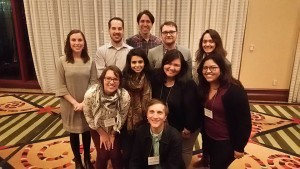 Select students at SEM Annual Meeting 2015 in Austin, Texas.