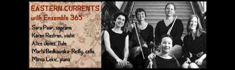 Ensemble 365 to Peform at the Tenri Cultural Institute of New York